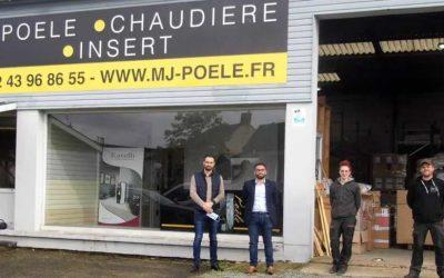 Ouverture d'un nouveau magasin MJ Poêle à Chemillé-en-Anjou